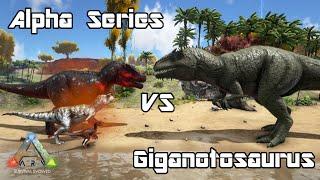 Ark survival evolved giganotosaurus lvl 1 vs skeletal t rex lvl ark survival evolved alpharex carno rapt malvernweather Choice Image