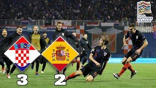 Croatia 3-2 Spain Review |  Tin Jedvaj To The Rescue | UEFA Nations League A4