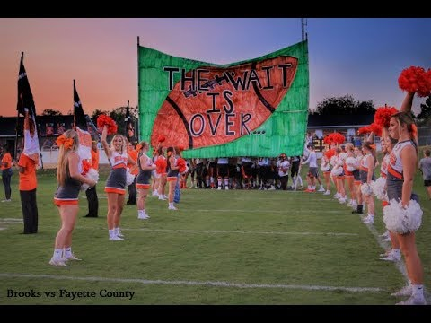 Brooks High School vs Fayette County High School Football Game