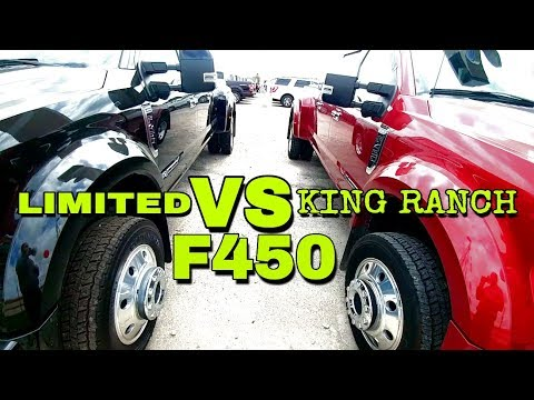 Ford F450 Limited vs King Ranch Trim! Worth the extra $4k?
