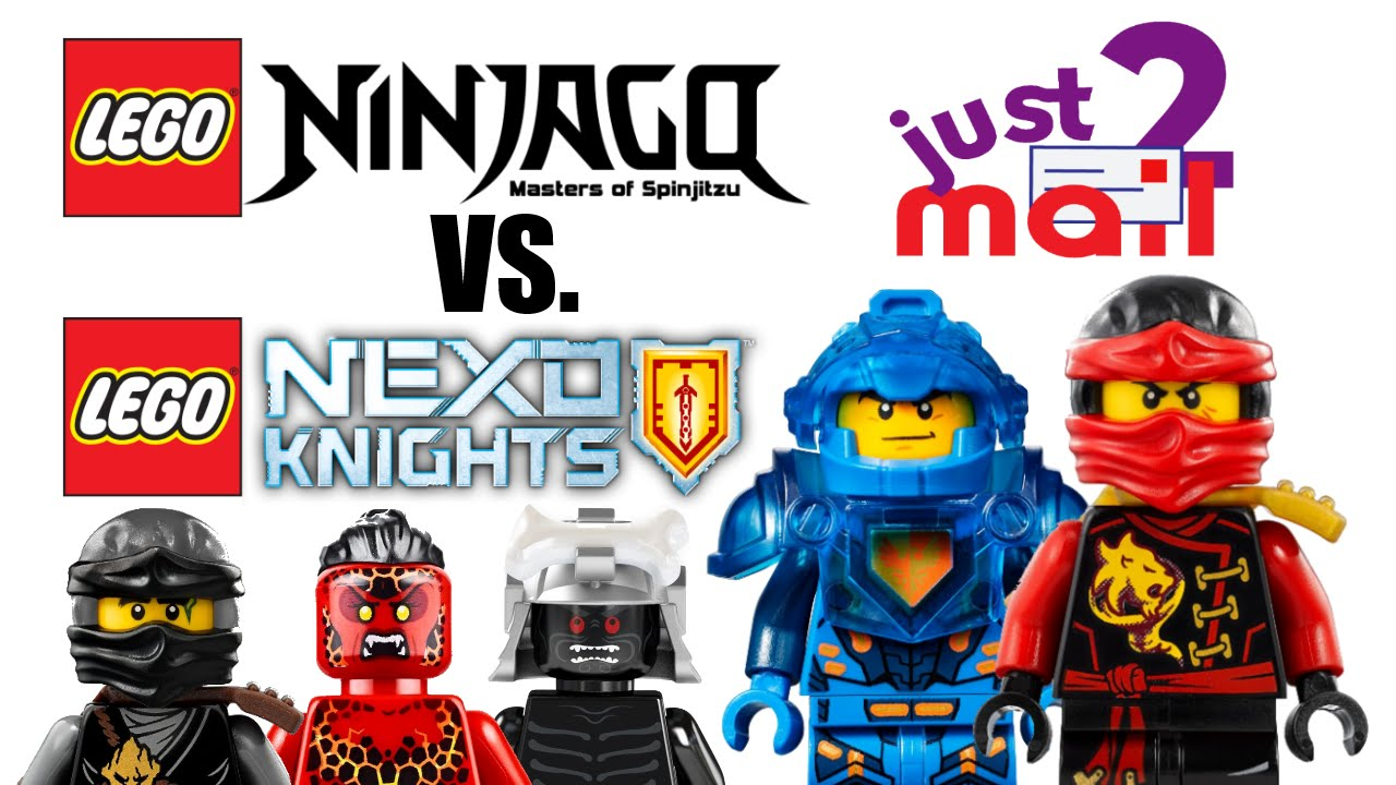 Lego ninjago vs nexo knights which is better just2mail 2 youtube - Ninjago vs ninjago ...