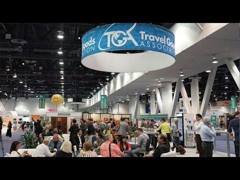 Highlights from The 2017 International Travel Goods Show