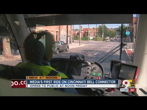 Here's your first ride on Cincinnati Bell Connector