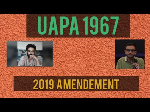 What after the arrest of the terrorist? || UAPA 1967 || Notable Arrest ||  2019 AMENDMENT