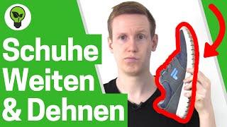 Schuhe Weiten & Dehnen ✅ TOP ANLEITUNG: Wie Eine Nummer Größer Machen?