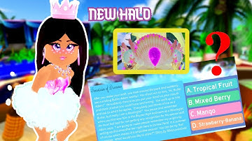 HOW TO WIN THE NEW MERMAID HALO 2020 IN ROYALE HIGH!