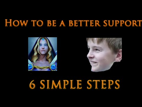 Dota 2 Guide - How to be a better support player | 6 Simple Steps!