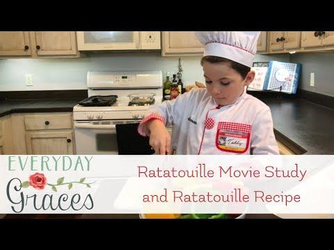 Ratatouille Movie Study And Ratatouille Recipe