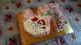 видео Торт для девочки 5 лет