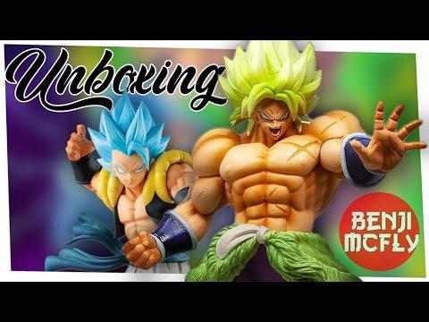 Unboxing Figurines Dragon Ball: Broly Vs Gogeta (Ichiban Kuji- King Clustar - Masterlise)