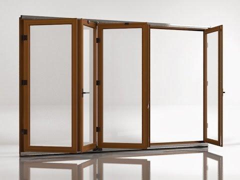 Sunflex Стеклянные складные двери.avi - YouTube