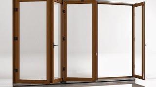 Металлопластиковые двери гармошка(, 2016-04-15T13:10:28.000Z)