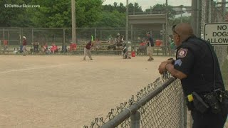 Youth baseball league coached by GRPD officers wraps up season