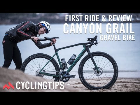 Canyon Grail gravel bike: First ride and Review - YouTube