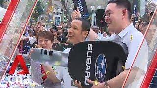 Thai contestant wins Mediacorp Subaru Car Challenge on 5th attempt