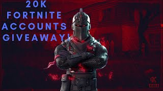 20k FREE FORTNITE ACCOUNT GIVEAWAY!