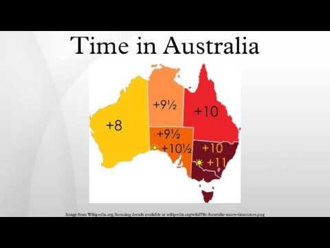 Time In Australia