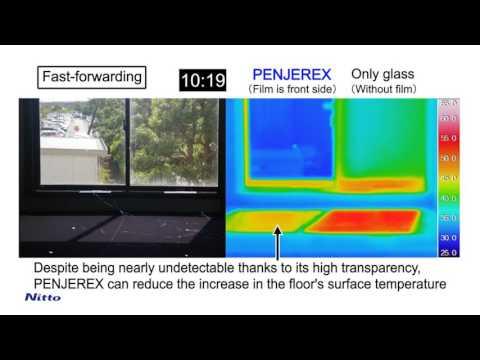 PENJEREX solar heat rejectionwindow E
