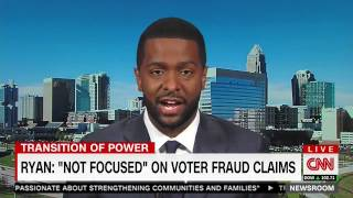 Bakari Sellers calls Paul Ryan a coward for not being brave enough to dispel voter fraud myths