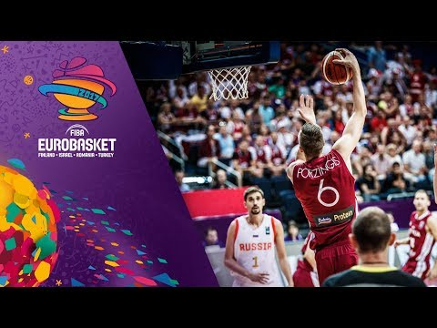 Russia v Latvia - Full Game - FIBA EuroBasket 2017