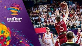 Russia v Latvia - Full Game - FIBA EuroBasket 2017