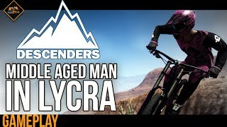 Descenders Extreme Mountain Biking Downhill Game   What the hell did I just watch?