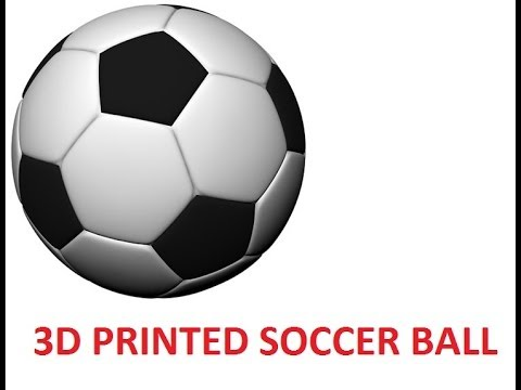 Da Vinci 3d Printed Soccer Ball From Thingiverse