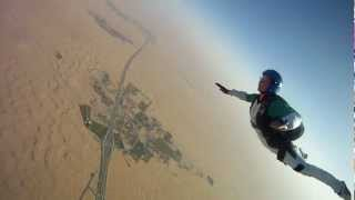 Skydive Nr. 8 - swoop & dock and a bit of tracking