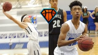 Daniel Lewis & Chase Hunter Are a DANGEROUS Backcourt Duo For Westlake!!