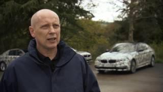 2017 BMW 5 Series teaser - interview with Jos van As