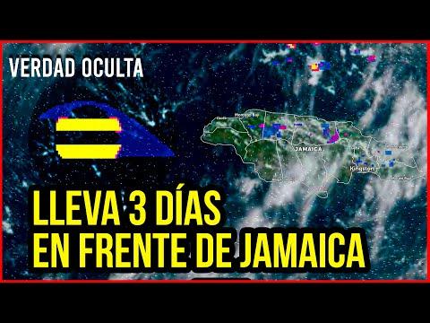LLEVA 3 DÍAS ESTO FRENTE LA COSTA DE JAMAICA