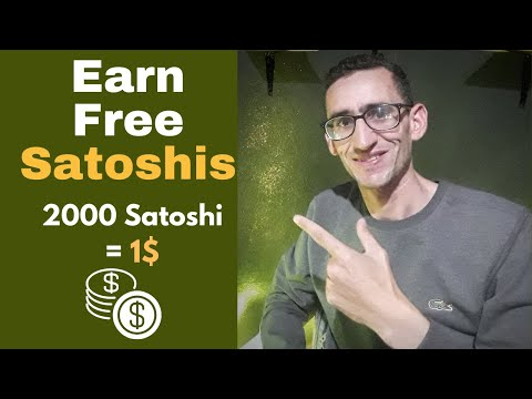 How To Earn Satoshi Free Or Bitcoin