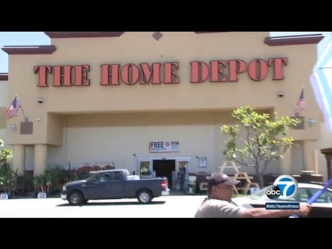 Wake Up Call - Home Depot Bans Glendora Couple After Protests Outside Store