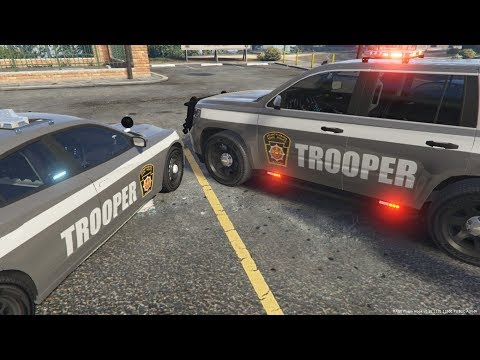 GTA 5 LSPDFR | PA State Police