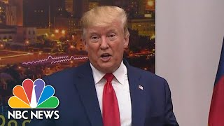 Donald Trump Claps Back At Dayton Officials: 'They're Very Dishonest People' | NBC News