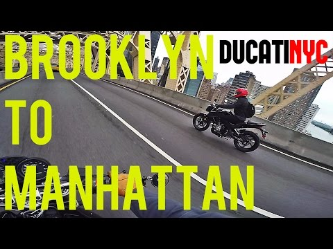 BROOKLYN to MANHATTAN via QUEENS - Another Tri Borough Long Ride - v228