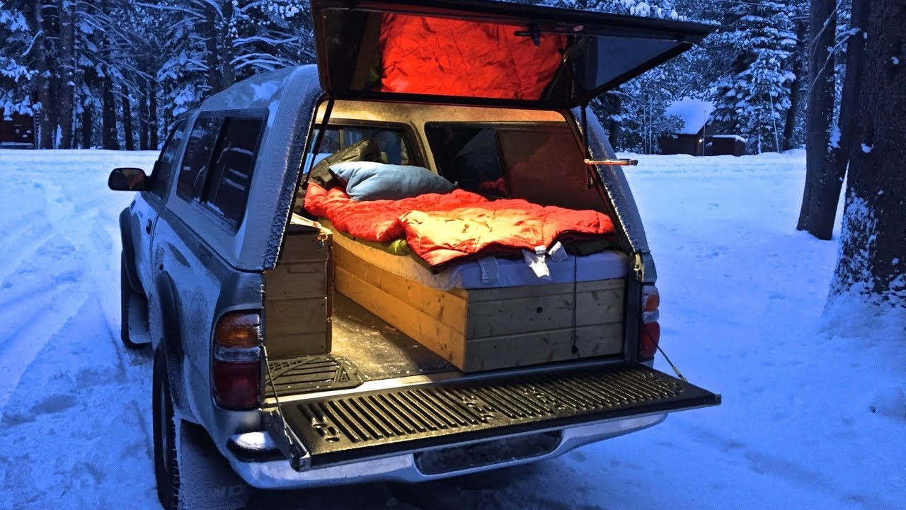 Truck Camping In Sub Freezing Weather