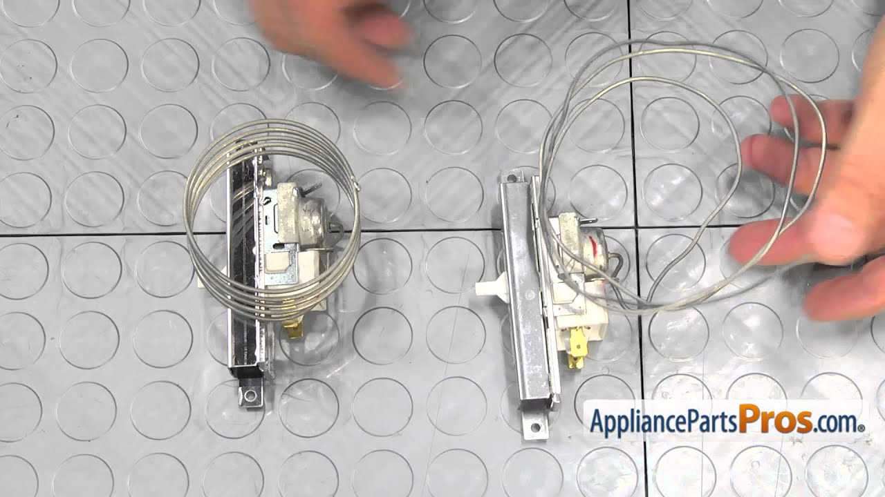 Refrigerator Thermostat Part W11088945 How To Replace Youtube Frigidaire Wiring Diagram