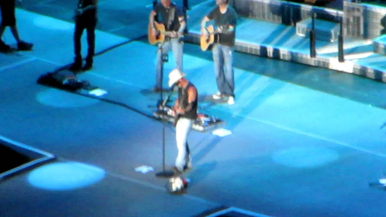 kenny chesney with peyton manning john fox boys of fall denver co youtube. Black Bedroom Furniture Sets. Home Design Ideas