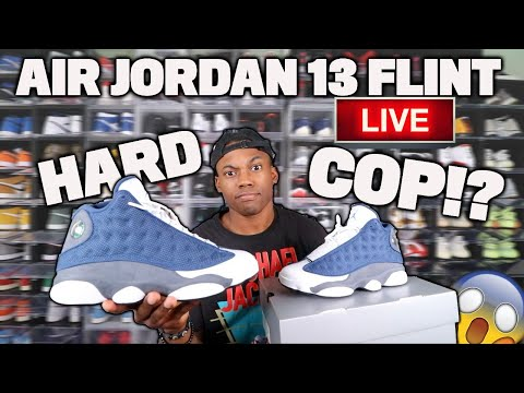LIVE COP: Air Jordan 13 Flint! This Will Be A HARD Cop! Resell Value Rising *Tips & Tricks*