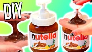 DIY NUTELLA SOAP!! Wash Your Hands With Nutella?! EASY