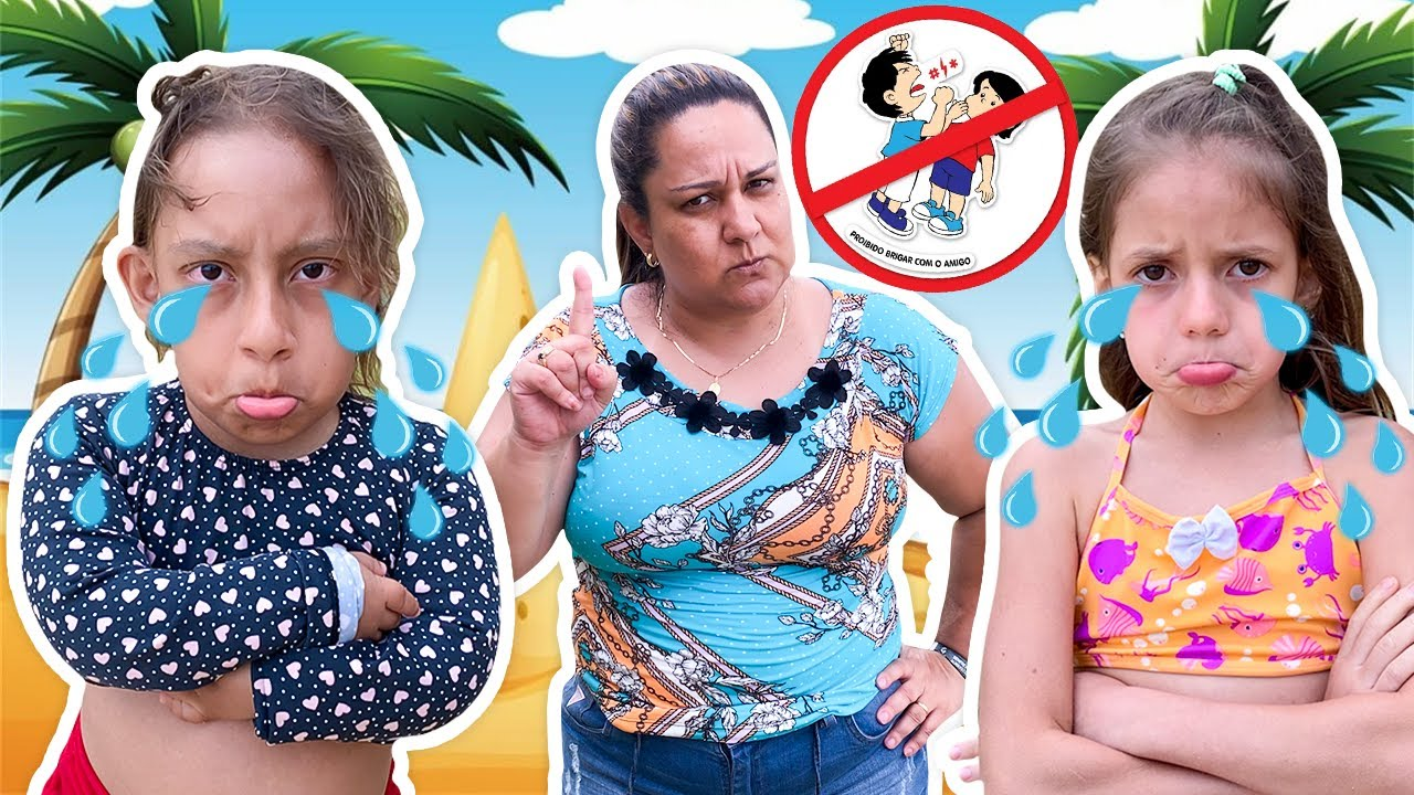 MC Divertida e Jessica Novas Regras de Conduta na Praia | New Rules of Conduct on the Beach