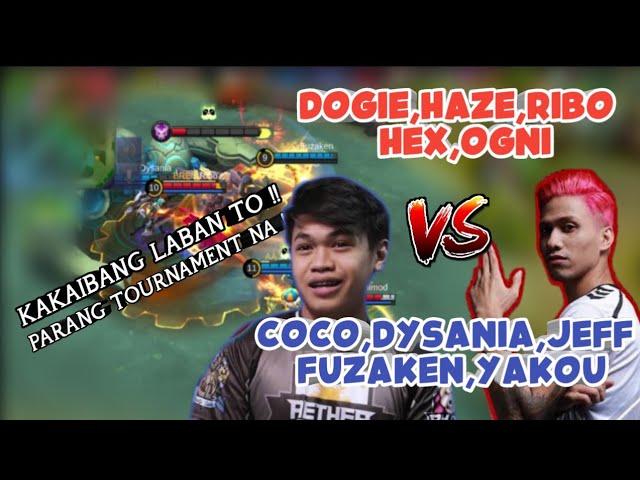Dogie Haze Ribo Nakalaban sila Coco Yakou Dysania sa RG 5v5 - Mobile Legends