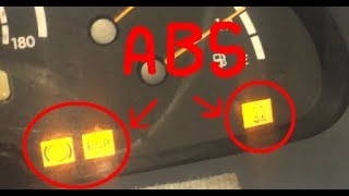 Mercedes Sprinter ABS light (ABS sensor replacement)