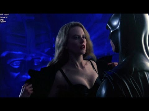 Dr. Meridian uses Bat-Signal | Batman Forever