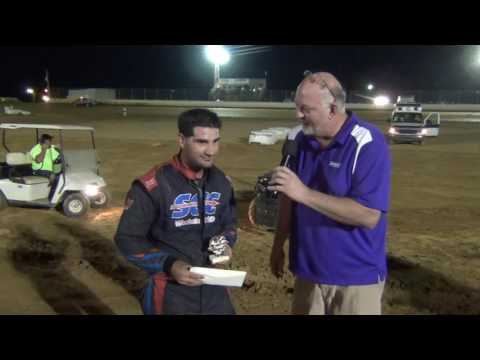 Trail-Way Speedway 358 Sprint Car Hard Charger 8-26-16