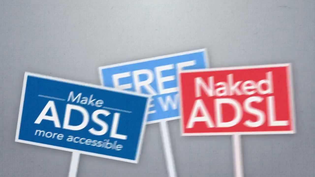 MWEB Naked ADSL campaign