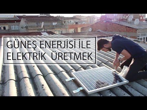 Güneş Enerjisinden Elektrik Nasıl Üretilir - Tüm Kurulum Safhası