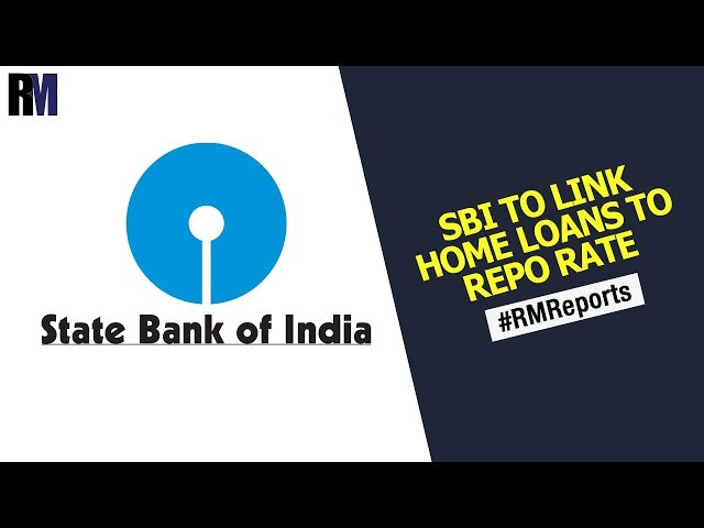 SBI to link home loans to repo rate | Weekly News Round Up | RealtyMyths