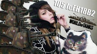 TANK GIRL: Французская премиум САУ 105 leFH18B2 ( 7 фрагов, Мастер )